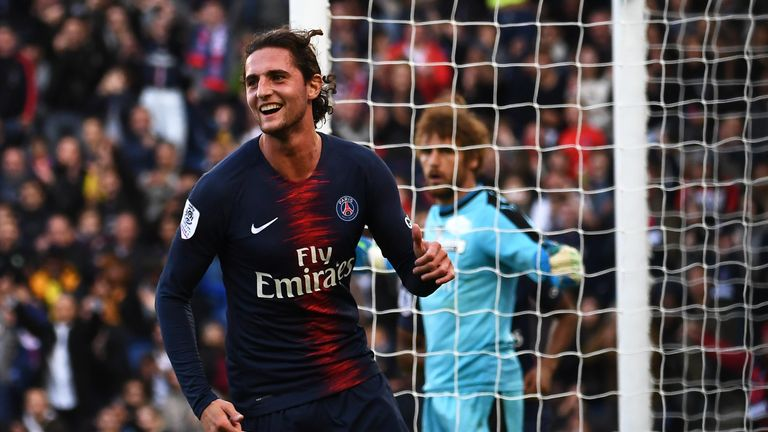 Adrien Rabiot will be Juventus' second free transfer of the summer after Aaron Ramsey from Arsenal