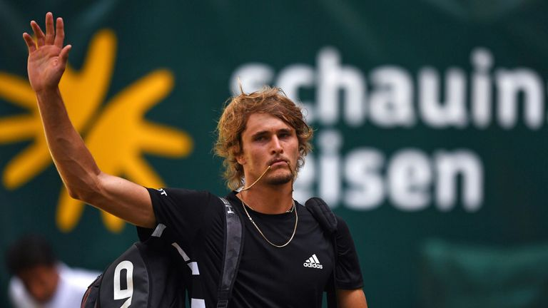 Alexander Zverev reached the third round at Wimbledon last year