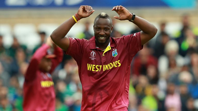 Andre Russell - six hitter and wicket taker