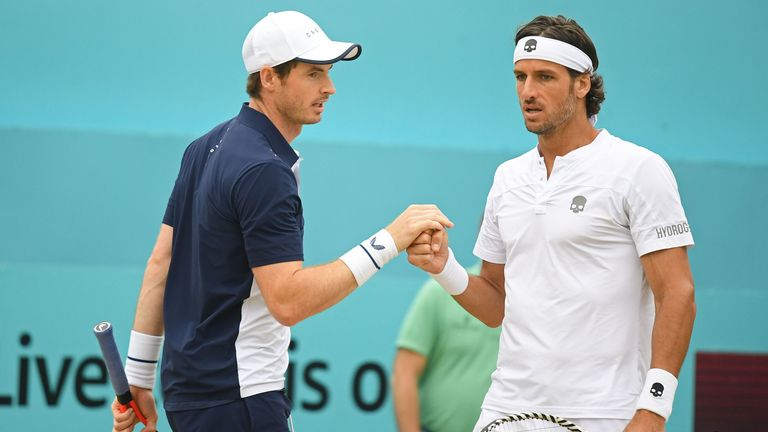 Murray and Lopez proved a formidable partnership
