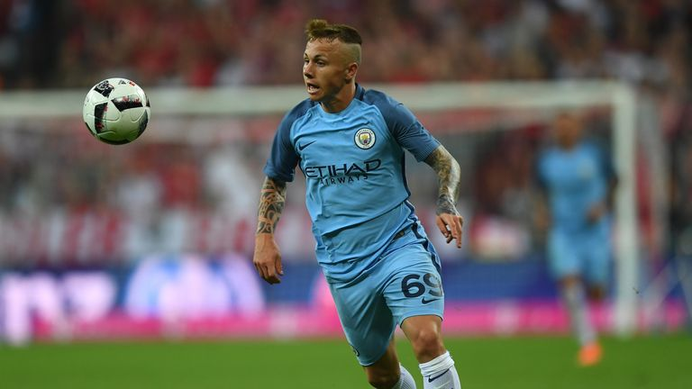 Angelino joined Manchester City from Deportivo La Coruna in 2013.