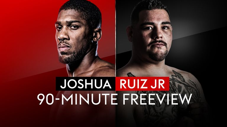 Joshua vs Ruiz Jr