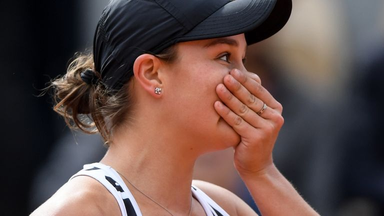 The Aussie was the 11th different women's winner at Roland Garros in the past 13 years