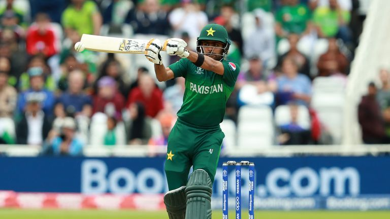Babar Azam hit 30 against Australia