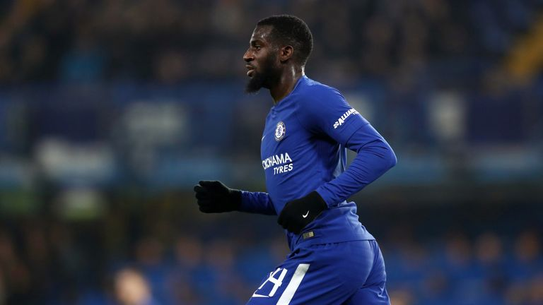 Chelsea midfielder Tiemoue Bakayoko arrived from Monaco for £40m in 2017.