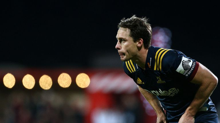 Ben Smith made his final appearance for the Highlanders against the Crusaders