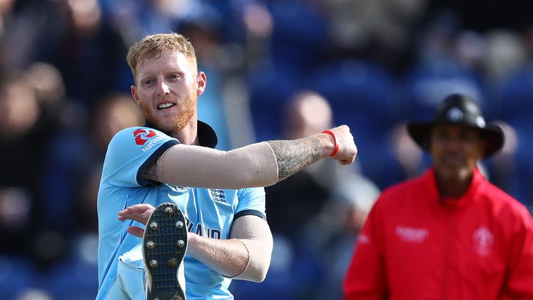 Ben Stokes picked up wickets in a hurry in a miserly spell