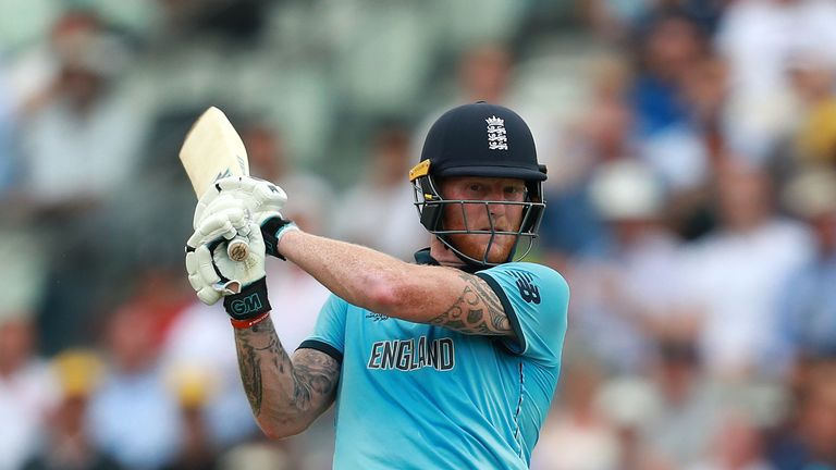 Stokes top-scored for England against Australia with 89
