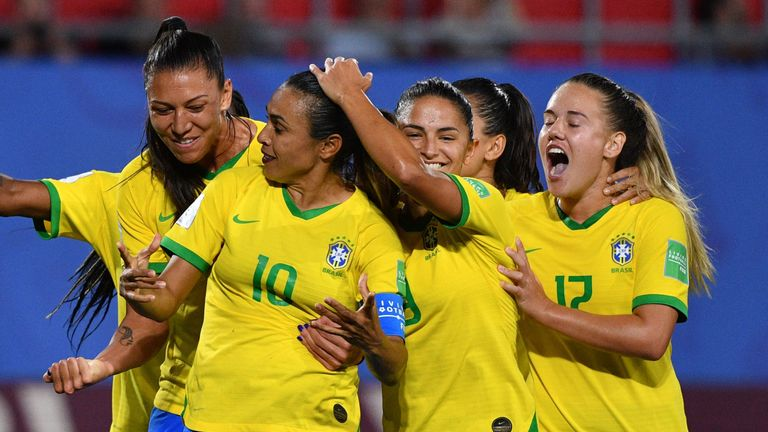 Marta scored the only goal of the game against Italy