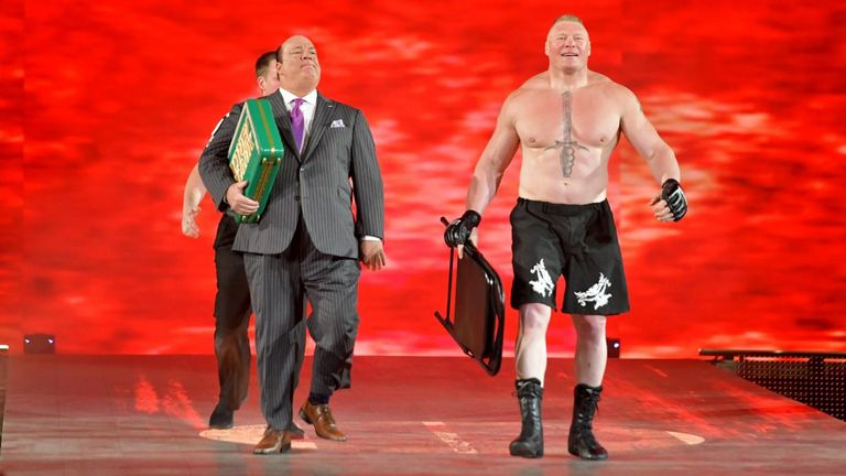Brock Lesnar intended to cash in his Money In The Bank contract at Super ShowDown