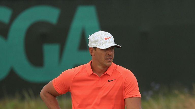 Brooks Koepka returns to the US Open as defending champion