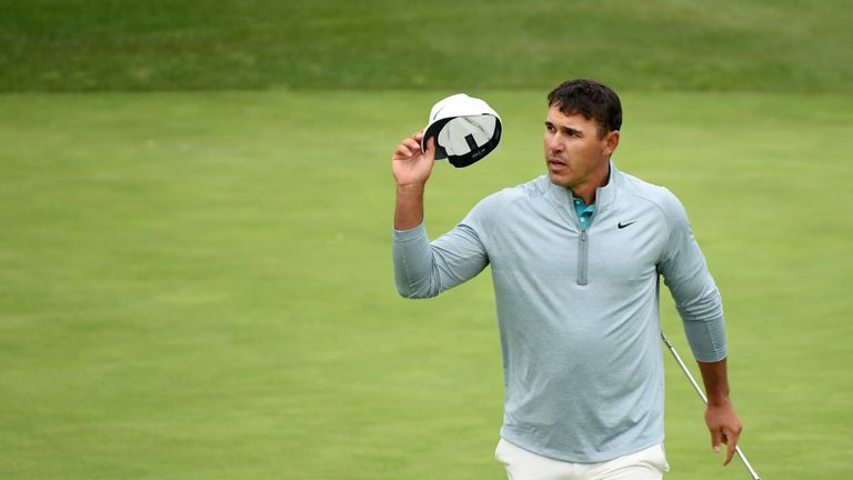 Koepka had to settle for second place behind Gary Woodland at Pebble Beach