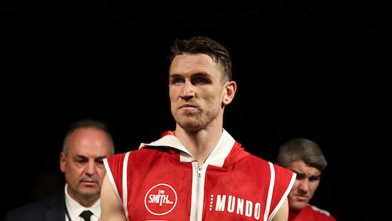 Smith defended his WBA 'Super' world title in New York