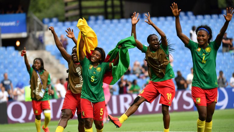 Cameroon have now qualified for the last 16 for the second successive World Cup