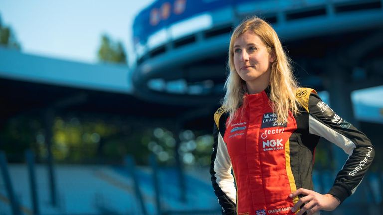 Charlie Martin has been working with Stonewall and Athlete Ally in recent months, sharing her story of being a trans woman in motorsport