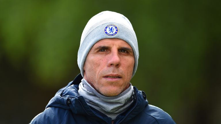 Gianfranco Zola played for Chelsea between 1996 and 2003
