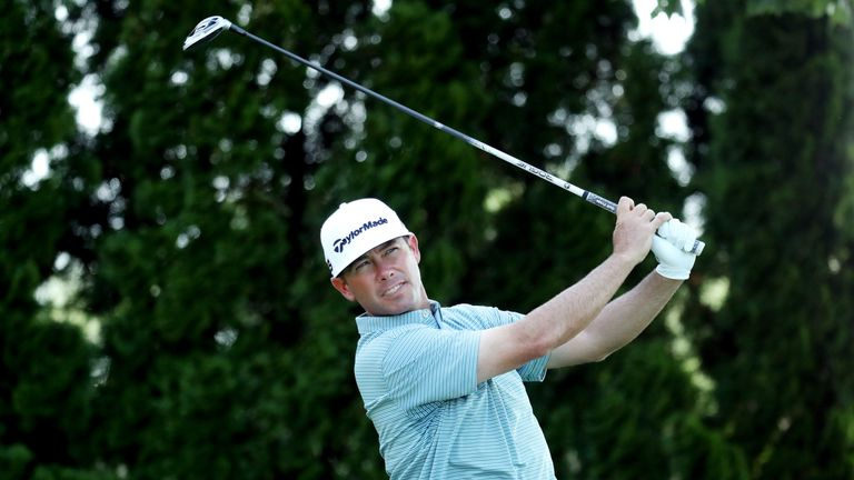 Reavie missed a series of birdie chances but made only one bogey in his 69