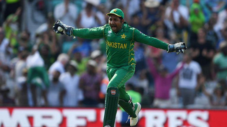 Pakistan's Sarfaraz Ahmed