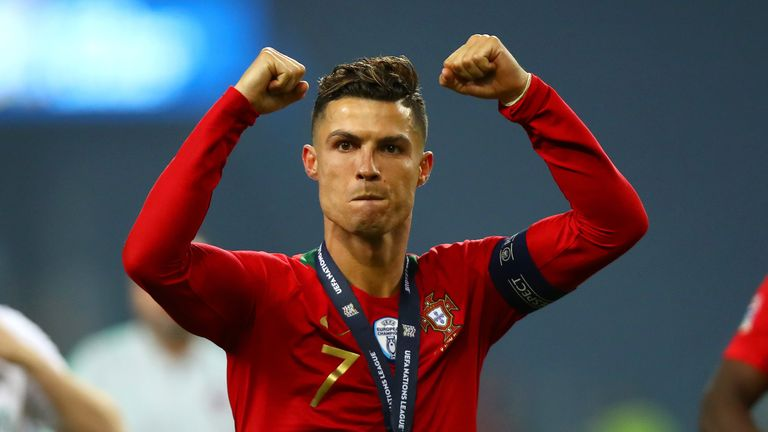 Matthijs de Ligt said Cristiano Ronaldo spoke to him about a potential move to Juventus during the Nations League final
