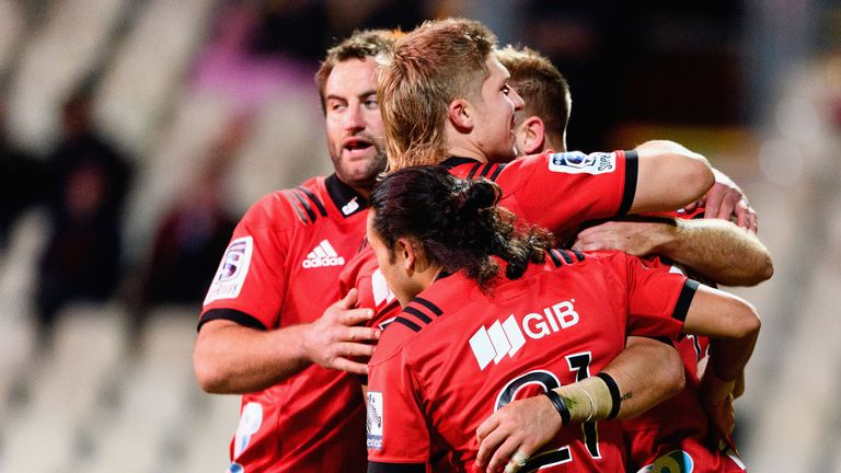 The defending Super Rugby champions Crusaders will host the first of this year's quarter-finals, live on Sky Sports