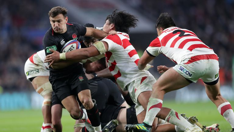 Danny Care has not featured for England since last year's win over Japan