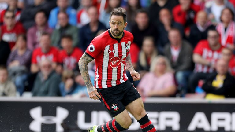 Ings scored eight goals in 24 games for the Saints