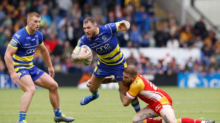 Daryl Clark was named as man of the match for Warrington
