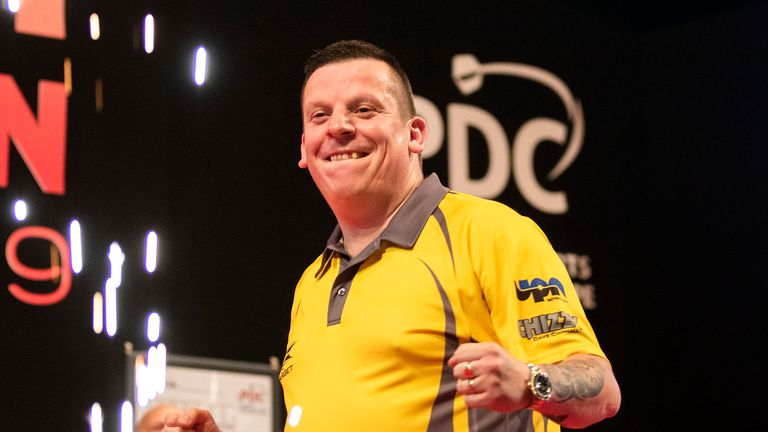 Dave Chisnall claimed glory in Denmark
