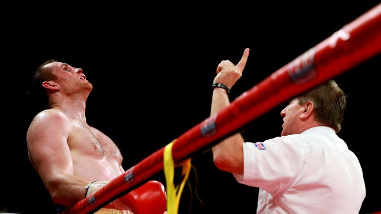 David Price of England in action with Tony Thompson of United States during their International Heavyweight Fight on July 6, 2013 in Liverpool, England. *** Local Caption *** David Price; Tony Thompson