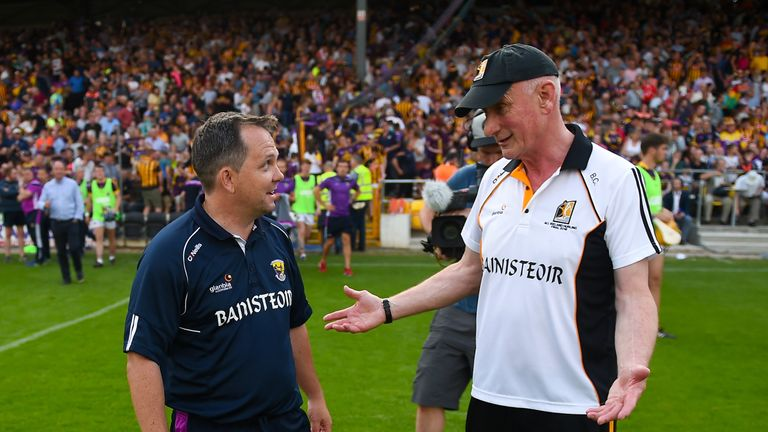 Davy Fitzgerald and Brian Cody will renew their rivalry