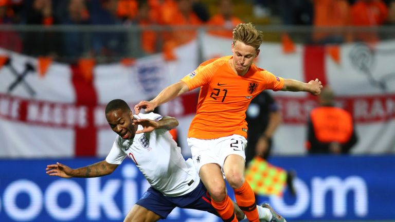 The emergence of Frenkie de Jong has also helped the Netherlands restore confidence.