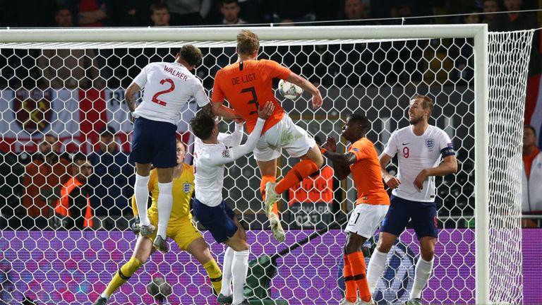 Matthijs de Ligt scores for the Netherlands