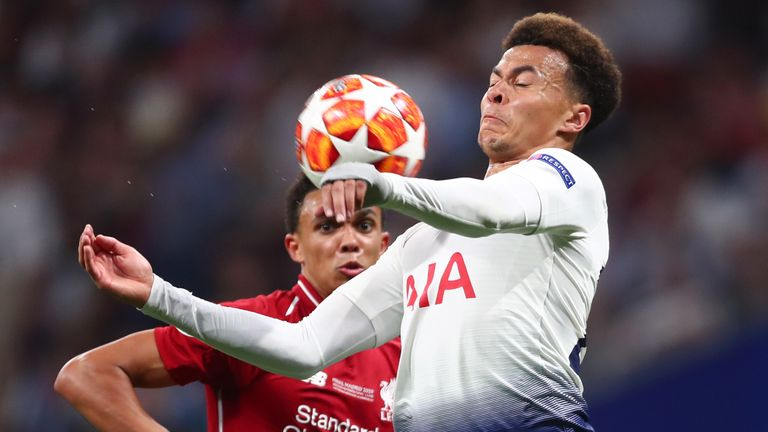 Tottenham were beaten by Liverpool in last season's Champions League final