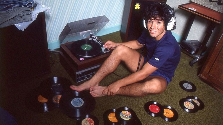 The film gives a unique insight into the life of Maradona [Credit: El Grafico]