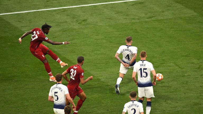 Divock Origi goal, Champions League final, Liverpool vs Tottenham