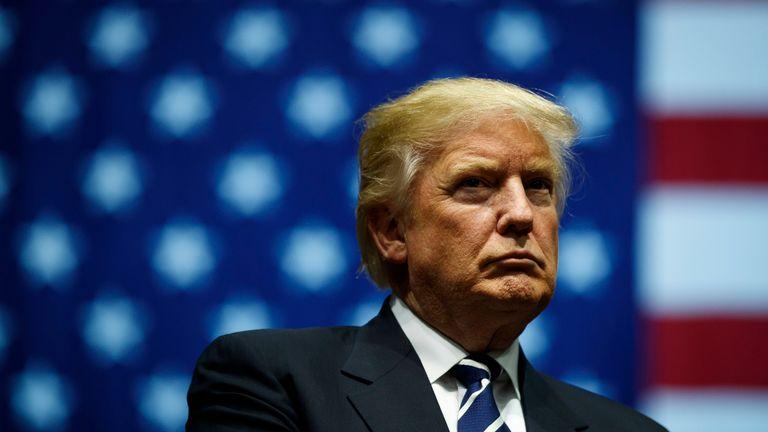 Donald Trump has accused Megan Rapinoe of disrespecting the United States