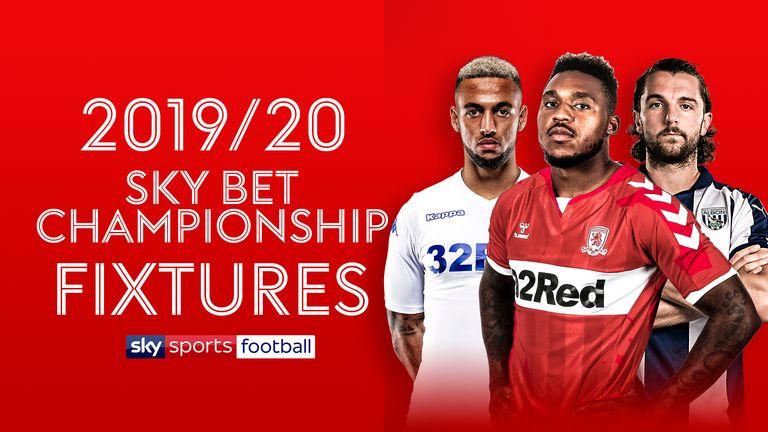 Sky Bet Championship fixtures 2019/20: Luton vs