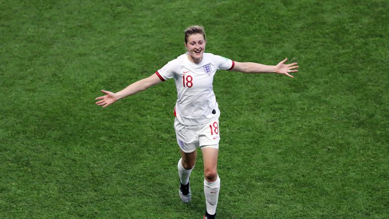 England's Ellen White was voted the tenth Best FIFA Women's Player