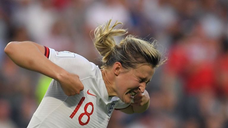 England's Ellen White had a goal disallowed two games in a row after VAR was used