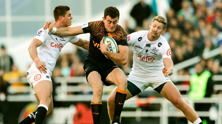Emiliano Boffelli scored two tries for the Jaguares and set one up