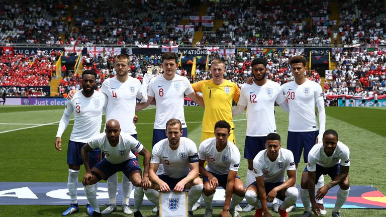 England finished third in the 2019 Nations League