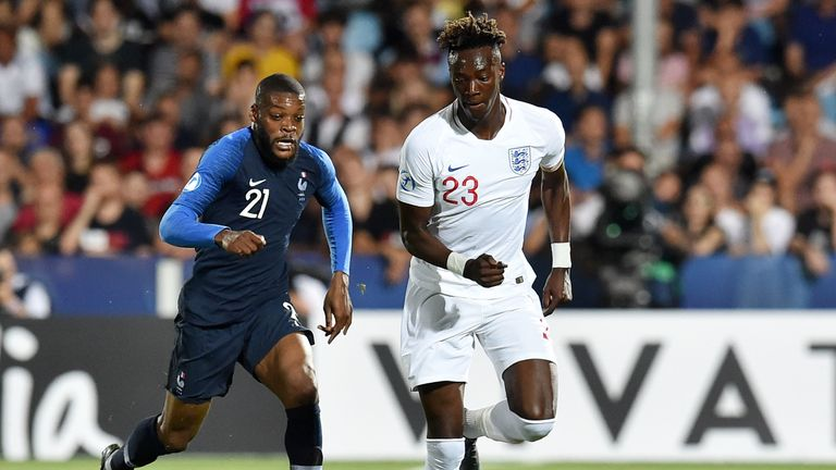 England U21s France U21s