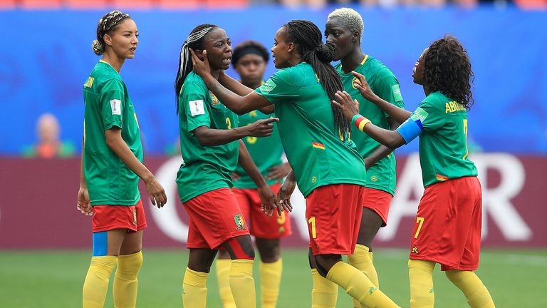 Cameroon Women were incensed by VAR decisions in their World Cup defeat