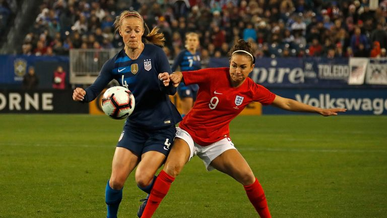 England and the USA are both favourites to win the Women's World Cup
