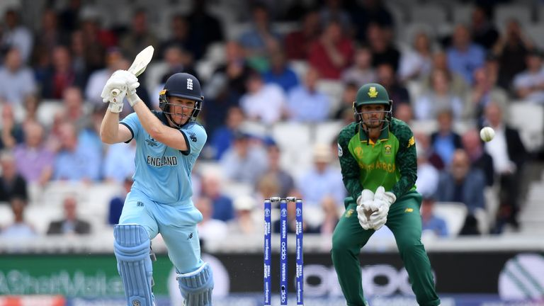 Eoin Morgan, England captain, ICC Cricket World Cup 2019 vs South Africa at The Oval