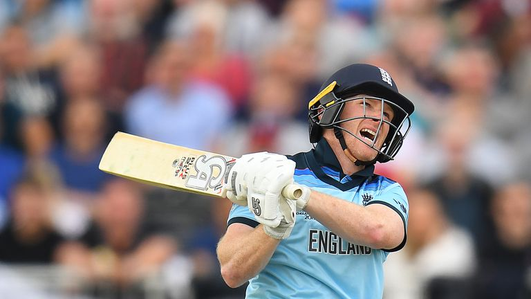 Eoin Morgan hits ODI record 17 sixes in 148 against Afghanistan