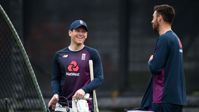 Eoin Morgan is in a confident mood ahead of England's match against Australia