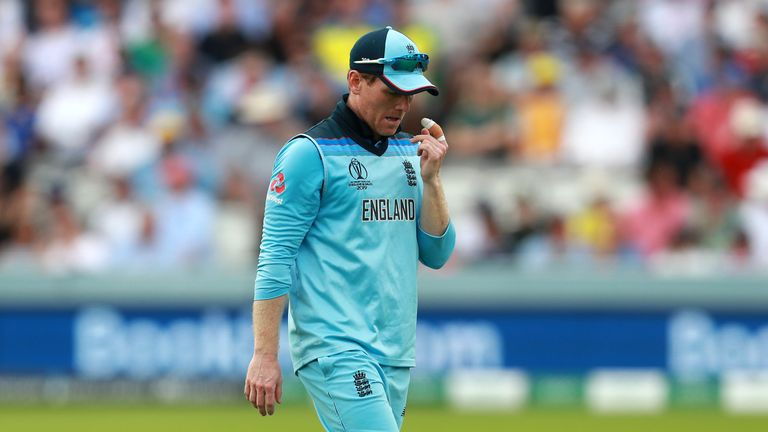 Morgan's side were at a low ebb after losing to Sri Lanka and Australia