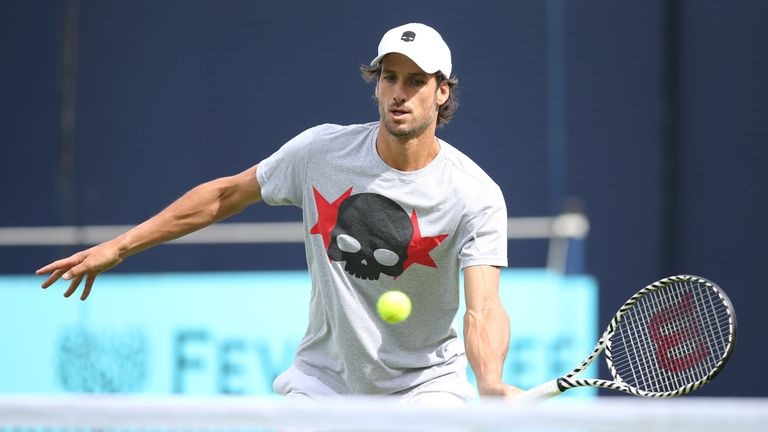 Feliciano Lopez is also playing in the singles at Queen's Club