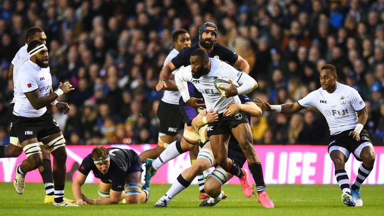 Pacific Island nations like Fiji could find their opportunities to play Tier One sides reduced